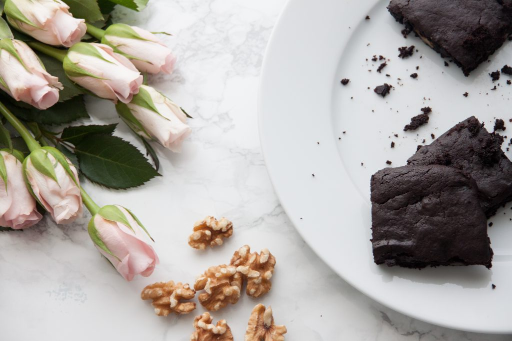 How to bake lush brownies (dairy and egg free)