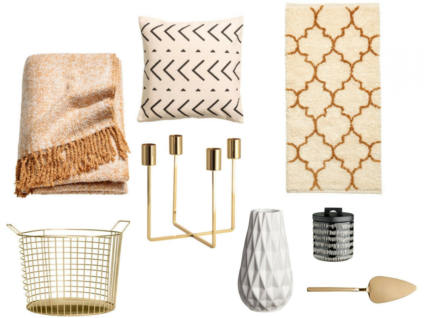 H&M homeware edit – my latest finds (autumnal inspired)