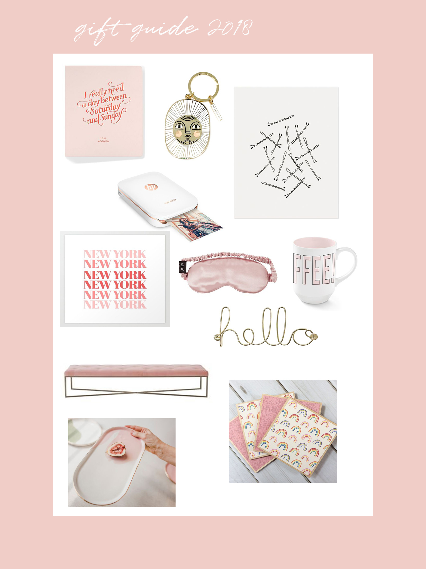 IEB gift guide 2018 - home