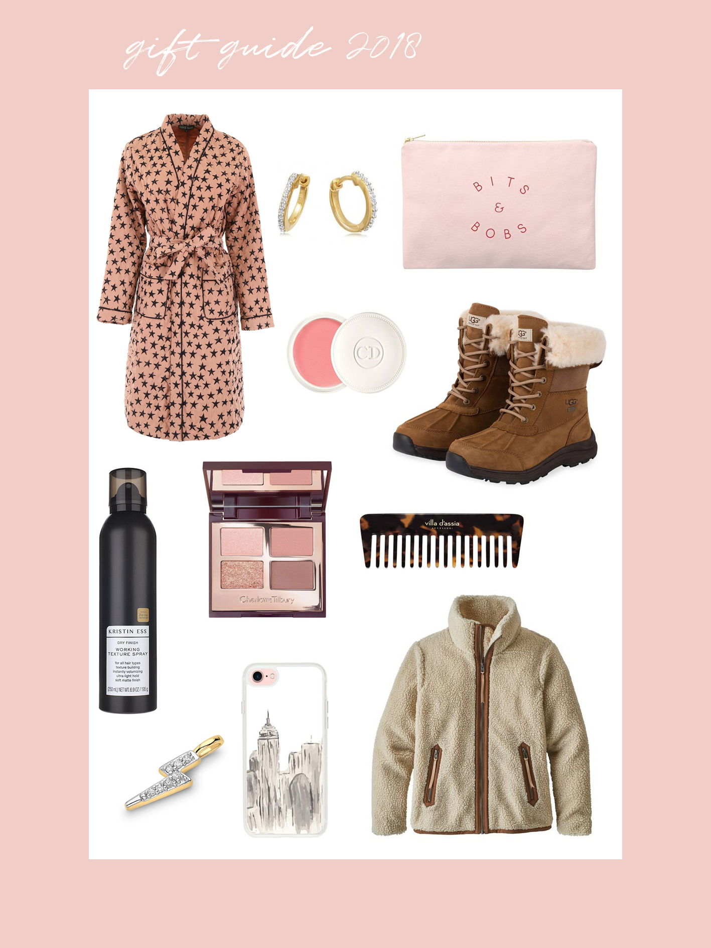 IEB gift guide 2018 - style